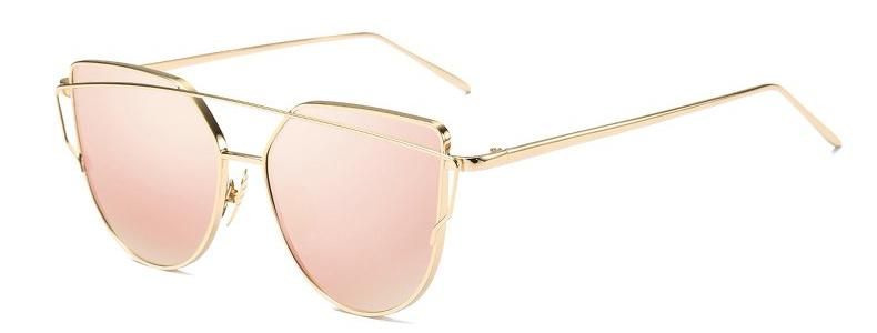 Classy Women Pink Cat Eye Sunglasses - Classy Women Collection