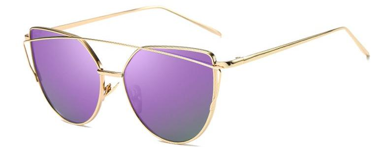 Classy Women Purple Cat Eye Sunglasses | sunglasses - Classy Women Collection