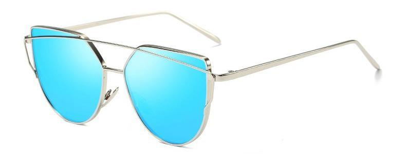 Classy Women Blue Cat Eye Sunglasses - 3 Styles | sunglasses - Classy Women Collection