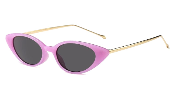 Classy Women Pink/Gold Cat Eye Sunglasses | sunglasses - Classy Women Collection