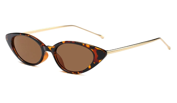 Classy Women Tortoise/Gold Cat Eye Sunglasses | sunglasses - Classy Women Collection