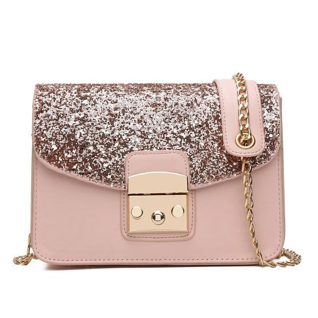 Classy Women Sequin Crossbody Bag - 3 Colors