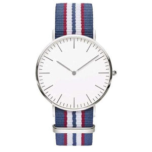 Classy Women Striped Nylon Watch - 9 Styles | watches - Classy Women Collection
