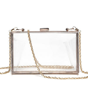Classy Women Transparent Crossbody Bag | Handbag - Classy Women Collection