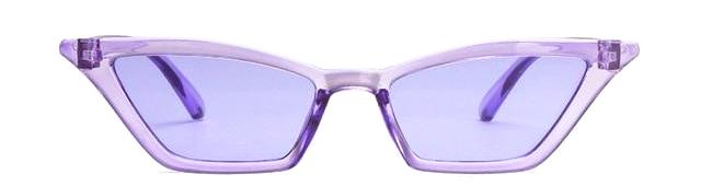 Classy Women Transparent Cat Eye Sunglasses - 7 Colors | sunglasses - Classy Women Collection