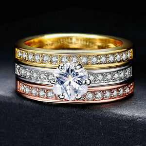 Classy Women Triple Ring - 3 Colors | Ring - Classy Women Collection