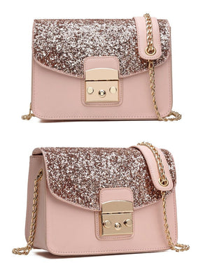 Classy Women Sequin Crossbody Bag - 3 Colors | Handbag - Classy Women Collection