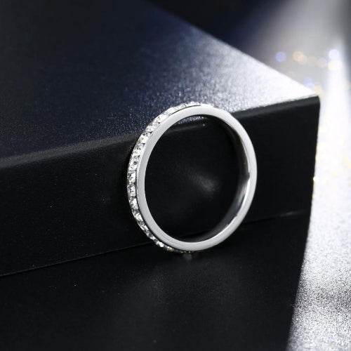 Classy Women Platinum Austrian Crystal Ring | Ring - Classy Women Collection