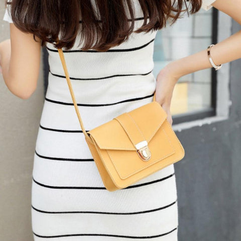 Classy Women Minimalist Crossbody Bag - 4 Colors | Handbag - Classy Women Collection