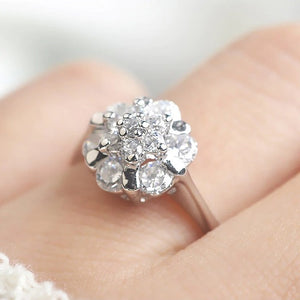 Classy Women Vintage Flower Ring | Ring - Classy Women Collection
