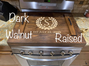 Custom Stove Top Cover
