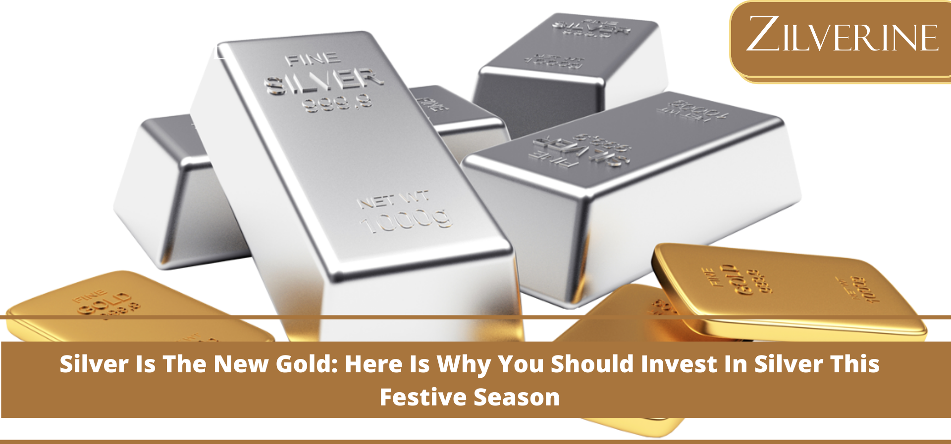 Silver Is The New Gold: Here Is Why You Should Invest In Silver This Festive Season