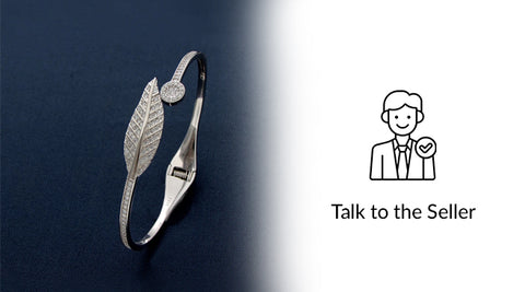 Talk with your sterling silver jeweller