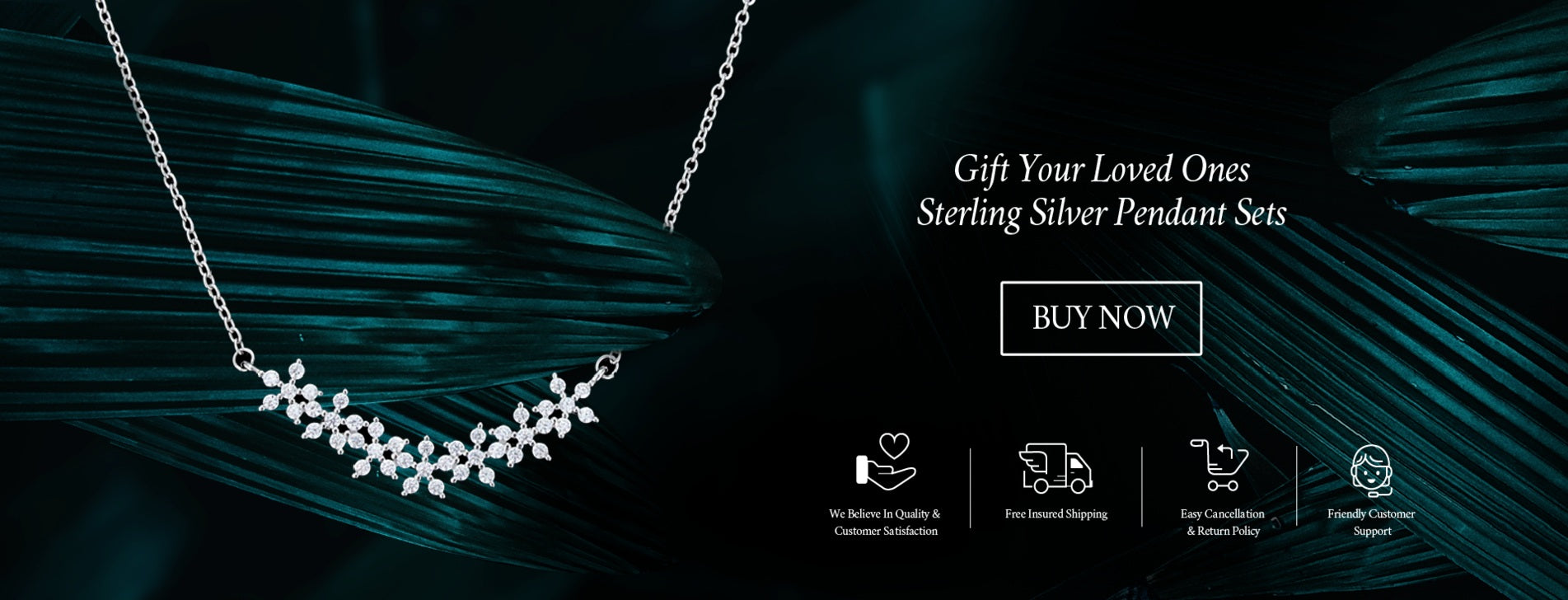 Gift Your Loved Ones Beautiful Sterling Silver Pendant.