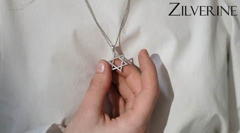 Buy Sterling Silver Necklaces online at lowest prices at Zilverine