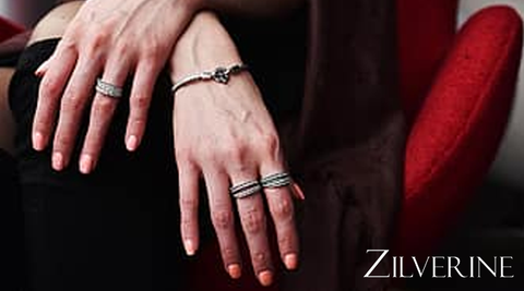 Buy Sterling Silver Rings at Zilverine.com