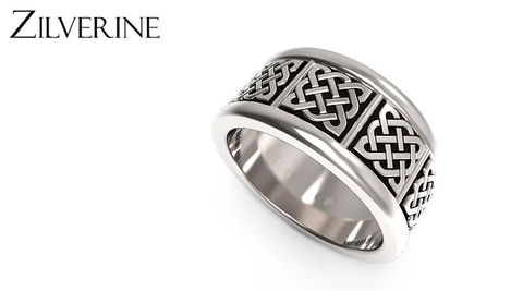 Retro Style Silver Rings