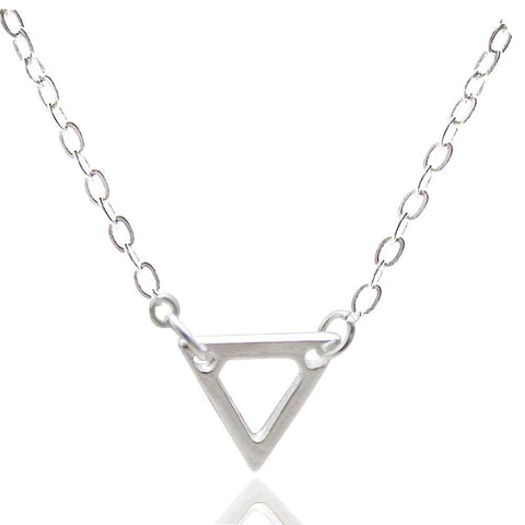 Triangular neckless