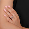 Sparkling Silver Special Ring For Valentine