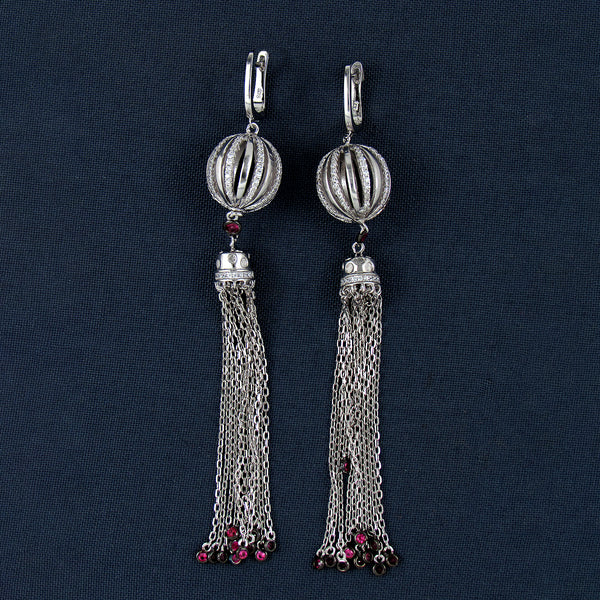 Archies Sterling Silver Jhumkas