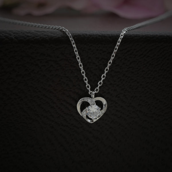 Heart Crossed Necklace