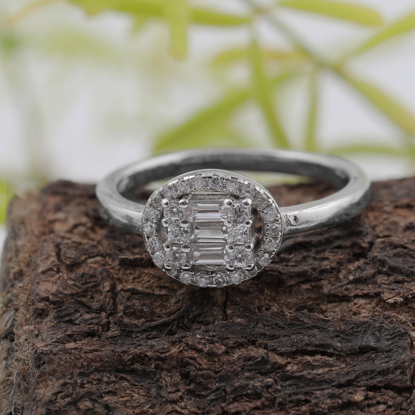 Ice Rock Sterling Silver Ring