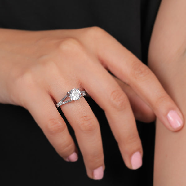 The Glam Sterling Silver Ring