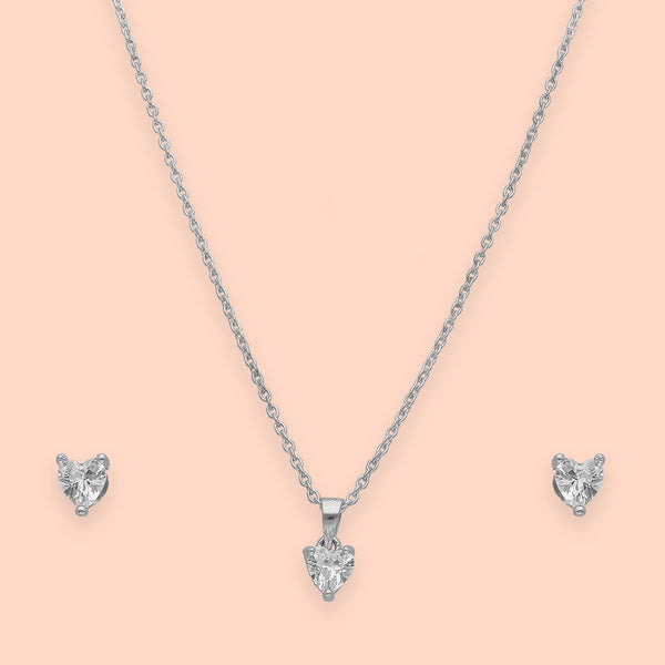 Queen of Hearts Pendant Set