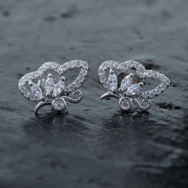 Wing Charm Studs