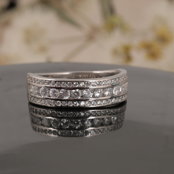Silver Sparkle Ring