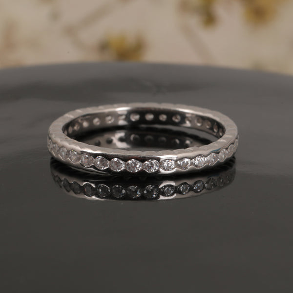 Diamond Speckled Ring