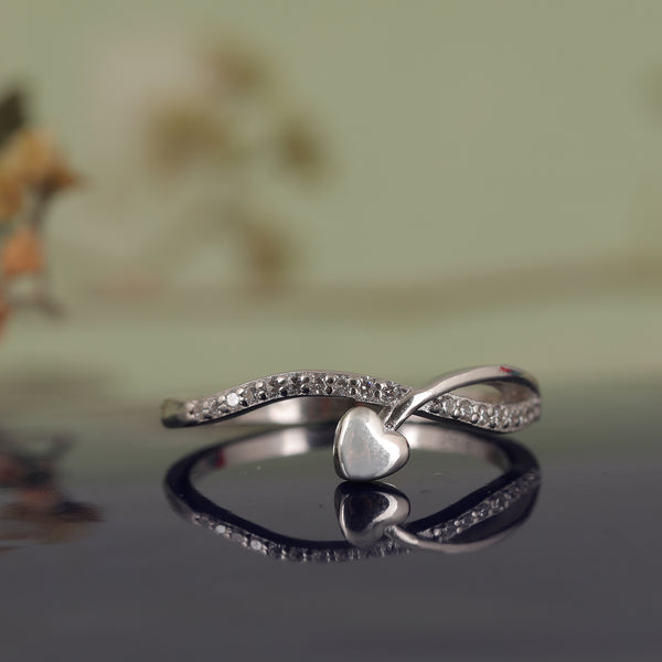 Zilverine Select Heart Ring
