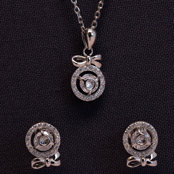Third Eye Charming Pendant and Earrings