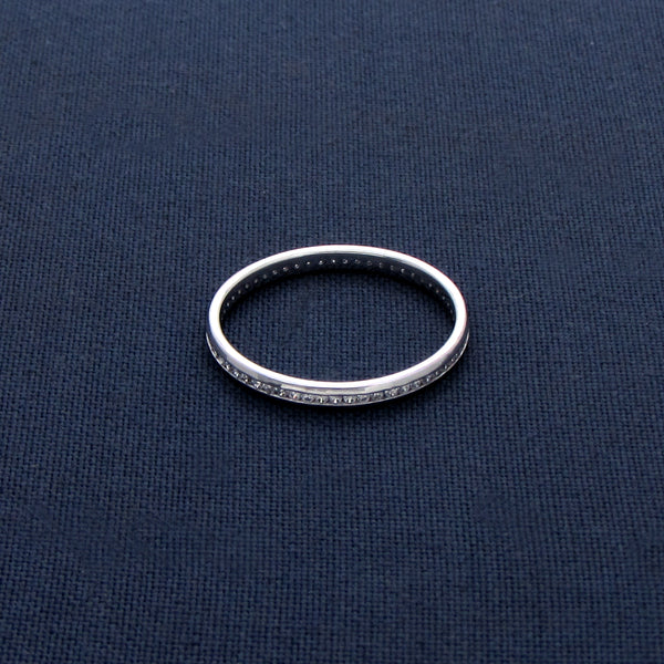 Silver Glam Ring