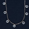 The Circles Of  Brilliance Sterling Silver Necklace
