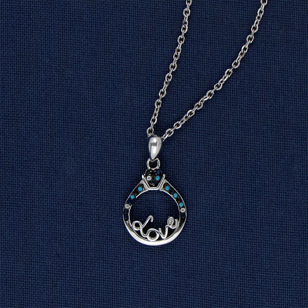 The Blue Love Necklace
