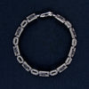 Sterling Silver Bracelet with Star Design