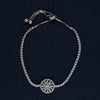 The Radiant Wheel Sterling Silver Bracelet