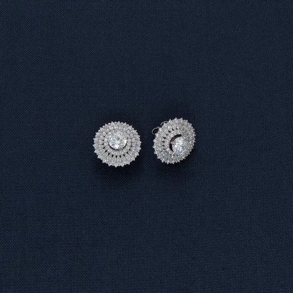 Round Studded Earrings
