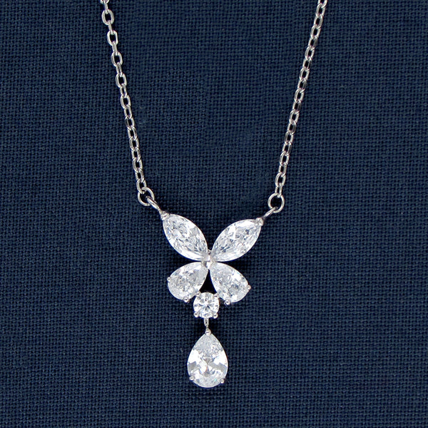Butterfly Design Silver Pendant