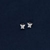 Charming Opaque Silver Earrings for Fashionable Women