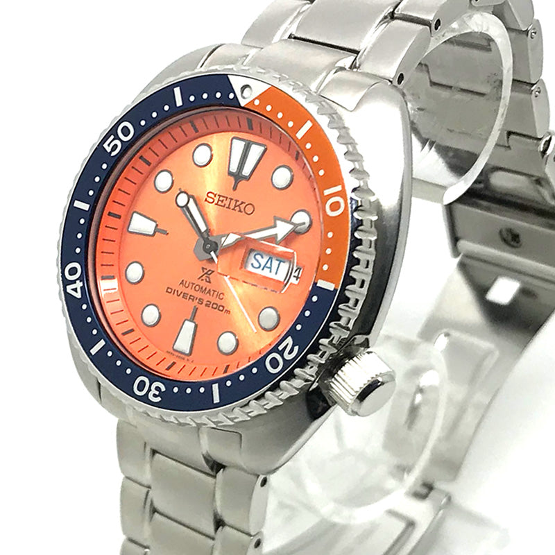 Seiko Turtle Orange Limited Edition