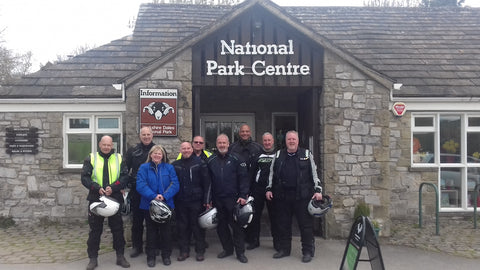(P)ride of the North Motorcycle Tour - Group picture