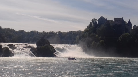 Rheinfall - British Bike Tours Motorcycle Tour