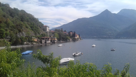 Beautiful Lake Como - Alps motorcycle tour
