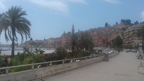 Beautiful Menton - Alps motorcycle tour
