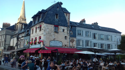 A lovely evening in Honfleur