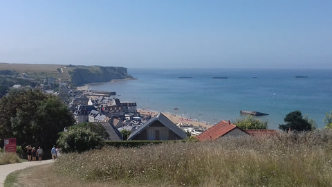 Arromanches and the Mulbery Harbour