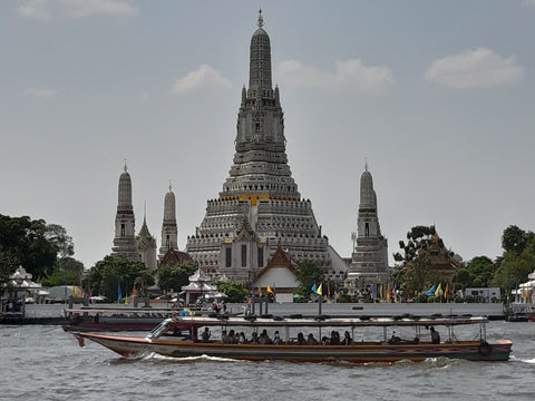 Thailand and Laos Motorcycle Tour - Temple Bangkok