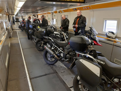 Vosges Motorcycle Tour - Eurotunnel